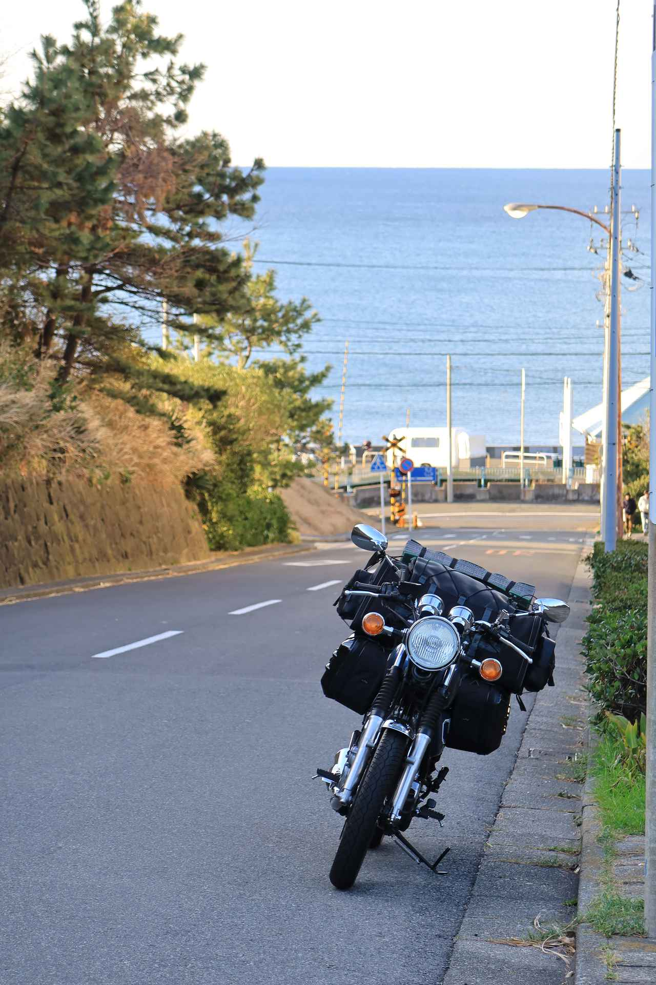 Images : 1番目の画像 - SR400 ツーリング風景写真 - webオートバイ
