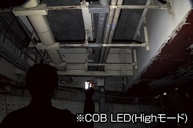 画像2: 面発光&トップライト、マグネットとクリップも装備