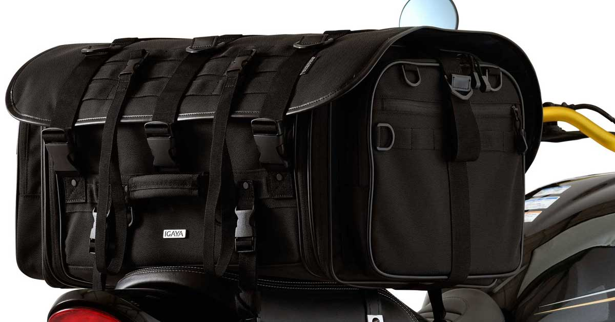 画像: IGAYA キャンプツーリングシートバッグ|株式会社プロト