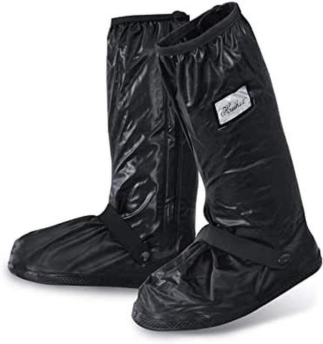 画像: Amazon | [sperro] シューズカバー 防水 靴カバー 携帯可 雨 雪 泥除け 梅雨対策 レインカバー 滑り止め 軽量 男女兼用 ロング (XL) | sperro | シューズカバー