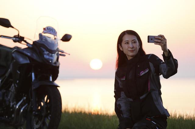 画像: 『SSTR 2019』モデルの朱香さんが見事完走! 〜Sunrise Sunset Touring Rally 2019 Report〜 - webオートバイ