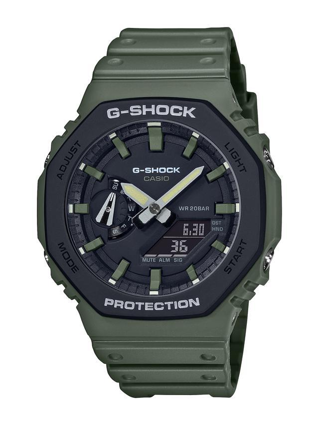 画像6: アウトドアでもストリートでも映えるG-SHOCK! 薄型の「GA-2100」シリーズにユーティリティカラーが登場