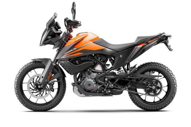画像2: KTM「390 ADVENTURE」オレンジ