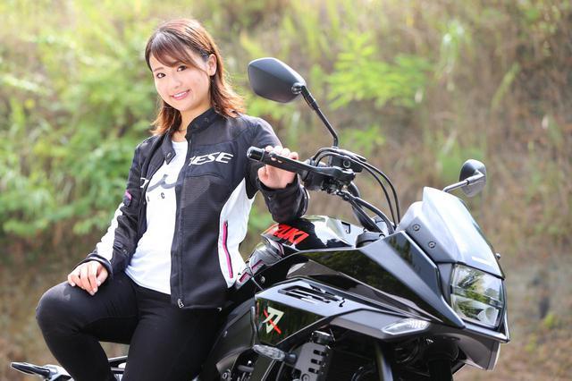 画像: 平嶋夏海の「つま先メモリアル」(第5回:Suzuki KATANA)【ゆるふわ 3枚刃】 - webオートバイ