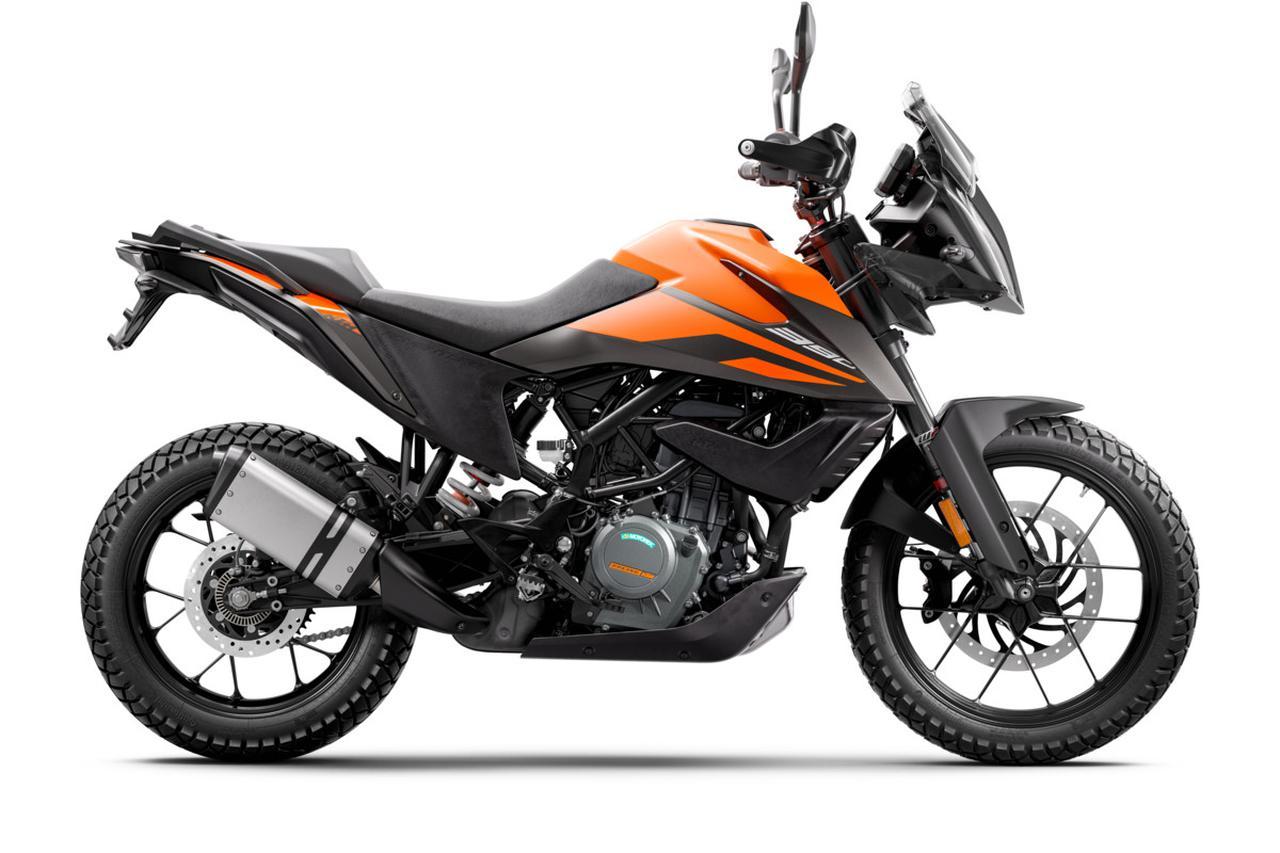 Images : 2番目の画像 - KTM「390 ADVENTURE」の写真を全て見る - webオートバイ