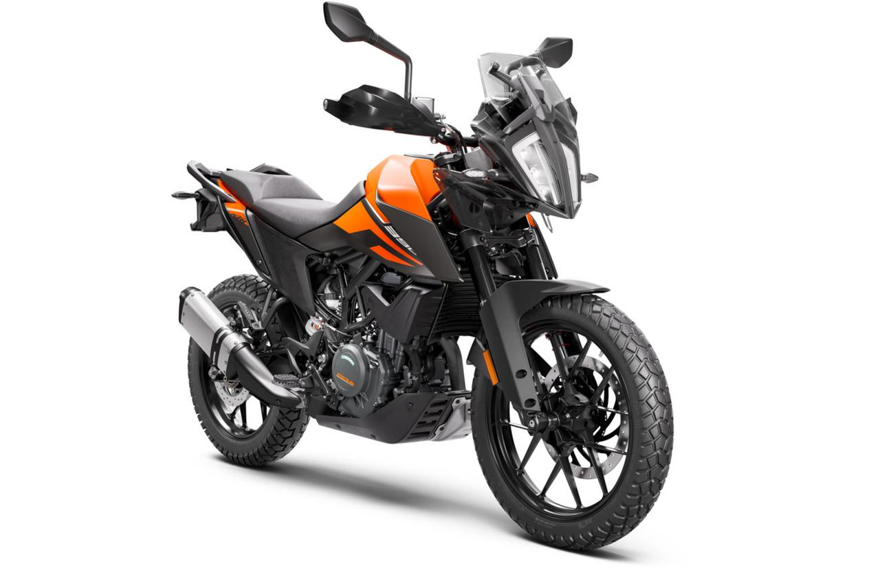 Images : 4番目の画像 - KTM「390 ADVENTURE」の写真を全て見る - webオートバイ