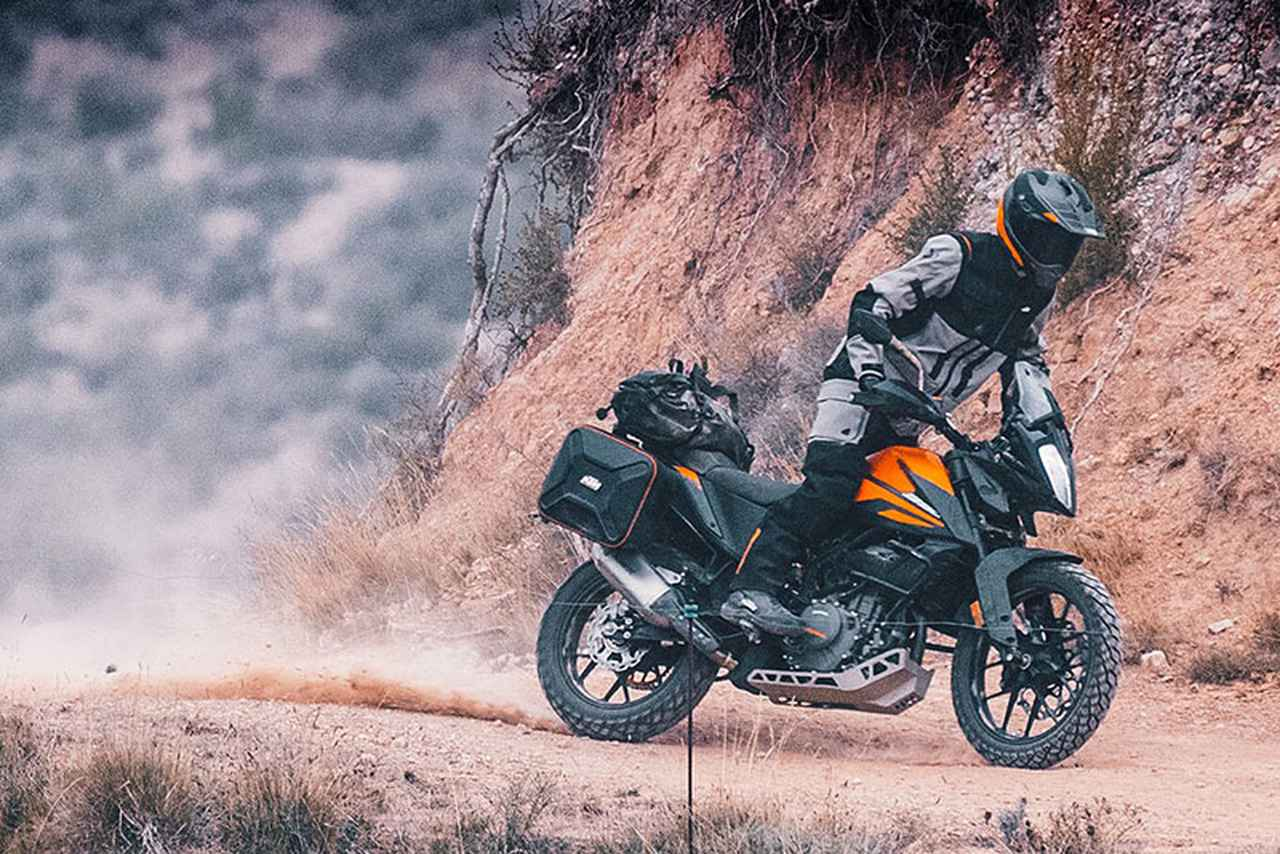 Images : 16番目の画像 - KTM「390 ADVENTURE」の写真を全て見る - webオートバイ