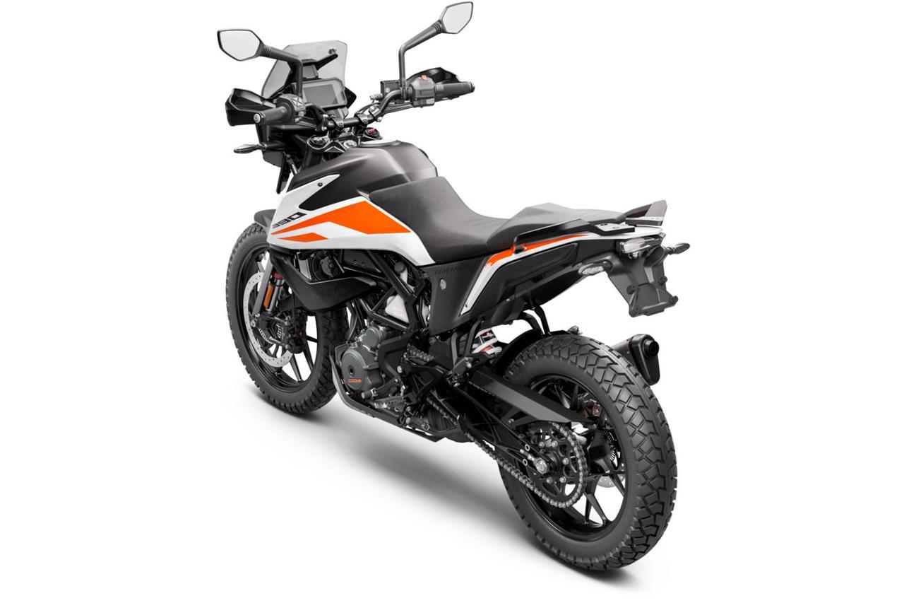 Images : 11番目の画像 - KTM「390 ADVENTURE」の写真を全て見る - webオートバイ