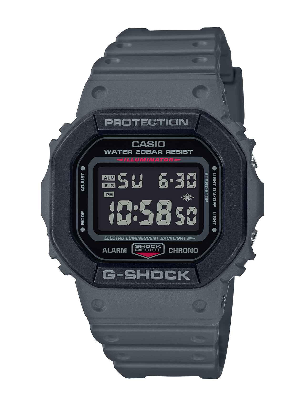 画像5: 【G-SHOCK】定番の〈DW-5600〉シリーズに「ユーティリティカラー」モデルが新登場!