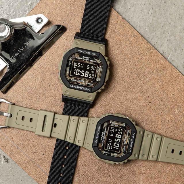 画像2: 【G-SHOCK】定番の〈DW-5600〉シリーズに「ユーティリティカラー」モデルが新登場!