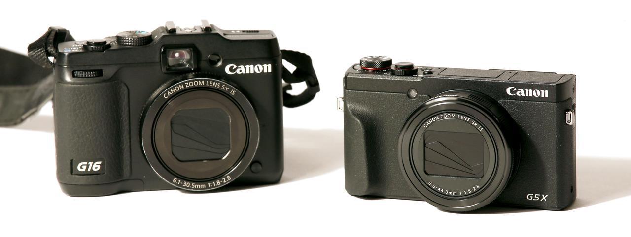 画像2: 左はG16。右はG5 X Mark II。