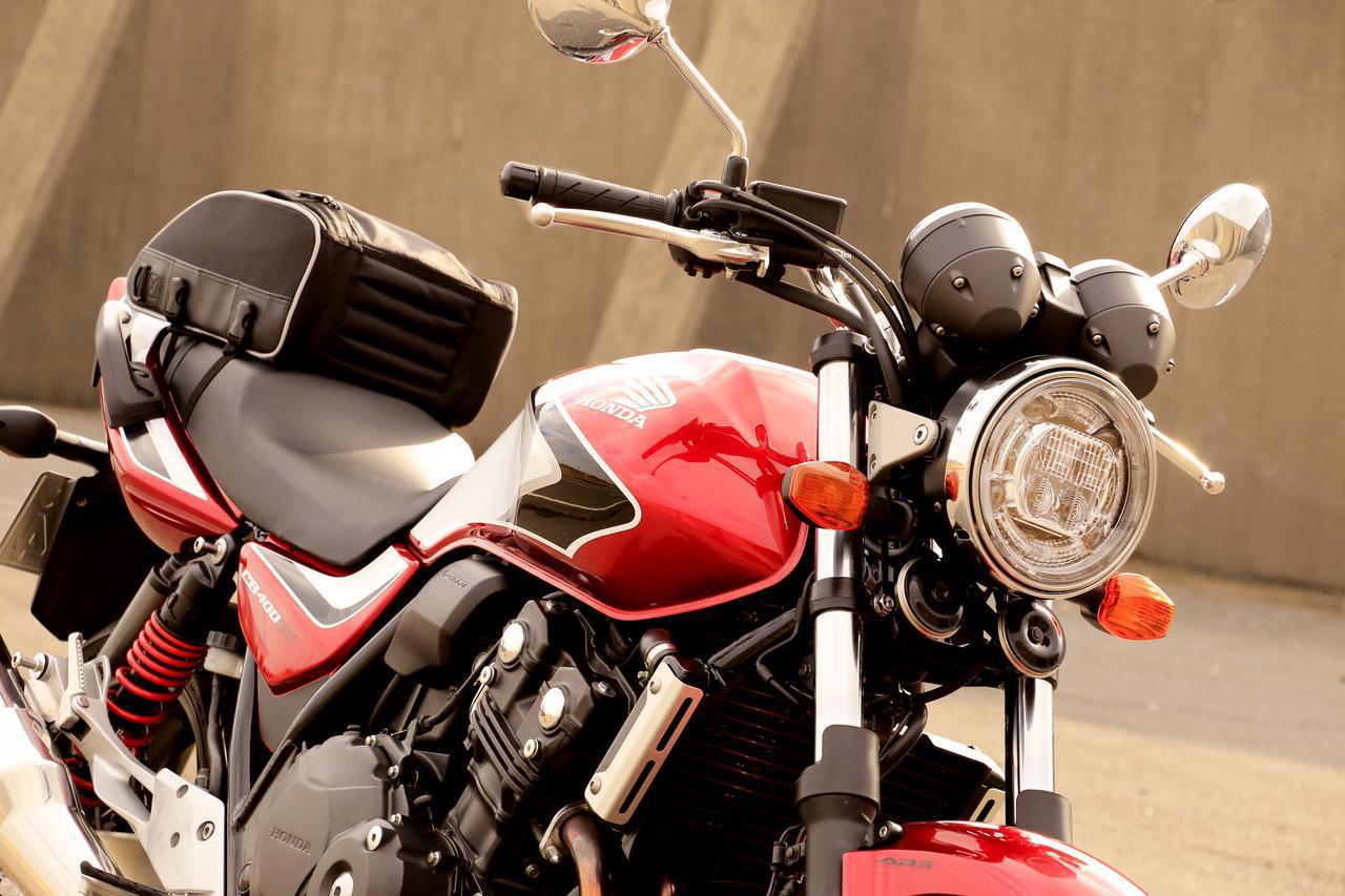 画像: 【積載インプレ】ホンダ「CB400 SUPER FOUR」/日帰りサイズからキャンツーリング用まで4種類のバッグでパッキング・テスト - webオートバイ