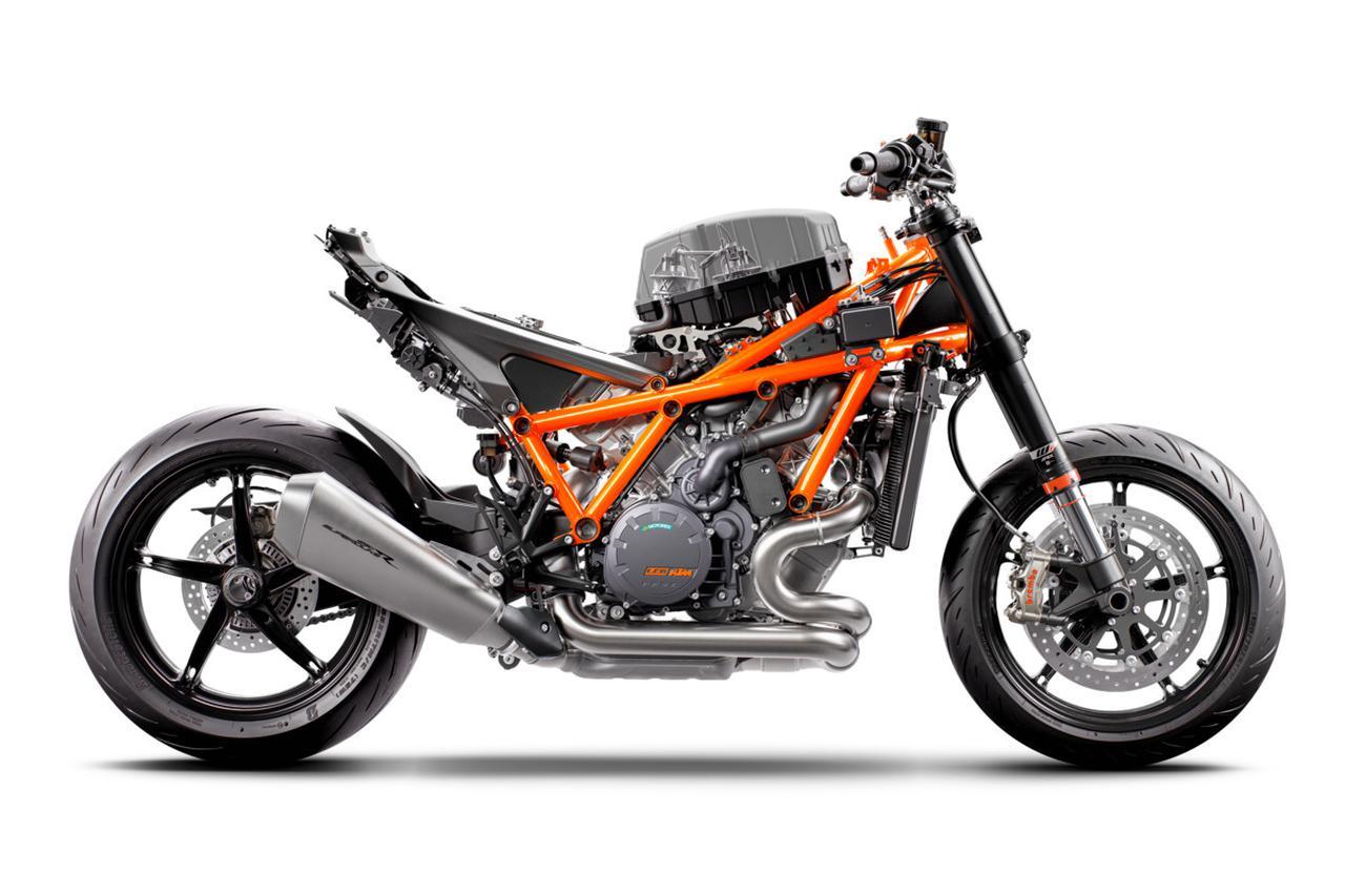 Images : 13番目の画像 - KTM「890 DUKE R」の写真を全て見る - webオートバイ