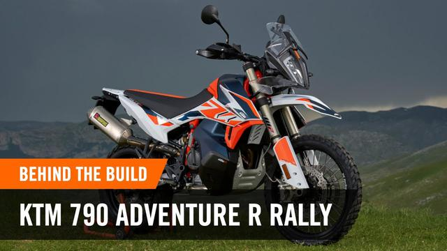 画像: Pushing further than ever before - The limited edition KTM 790 ADVENTURE R RALLY | KTM www.youtube.com