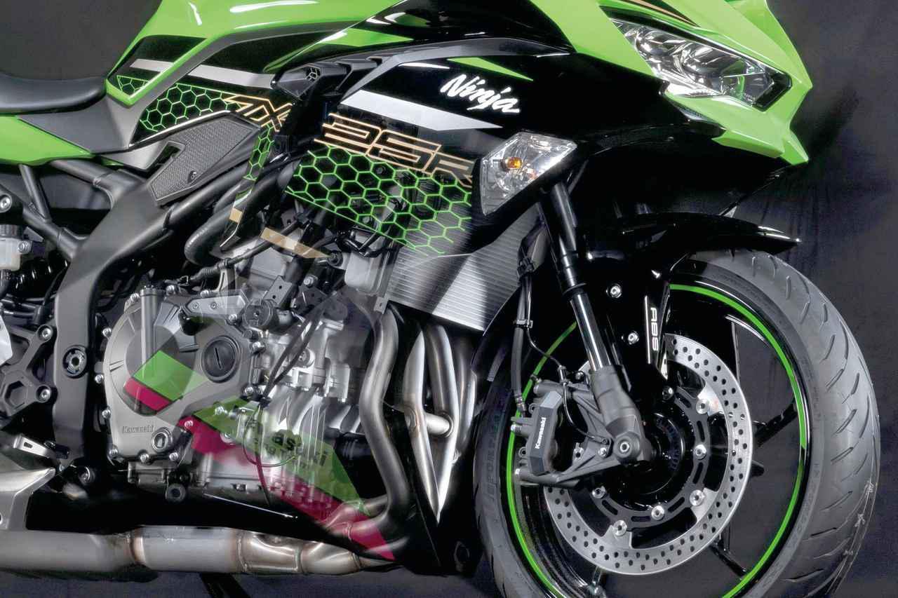 画像: 4気筒250cc カワサキ「Ninja ZX-25R」をめぐる予想と期待、世界初公開された参考出品車から分かったメカニズムを総まとめ - webオートバイ