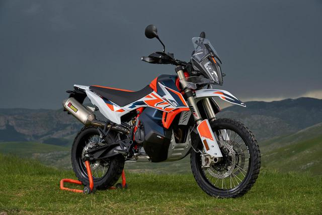 画像1: KTM「790 ADVENTURE R Rally」オレンジ