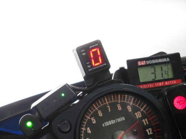 画像: スズキ「GS1200SS」('02 後期型)取付例