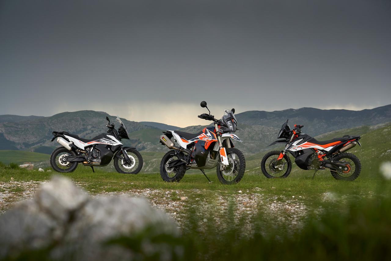 Images : 14番目の画像 - KTM 790 ADVENTURE R Rallyの写真をもっと見る - webオートバイ