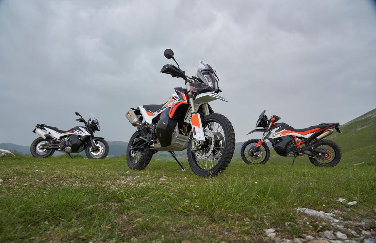Images : 16番目の画像 - KTM 790 ADVENTURE R Rallyの写真をもっと見る - webオートバイ