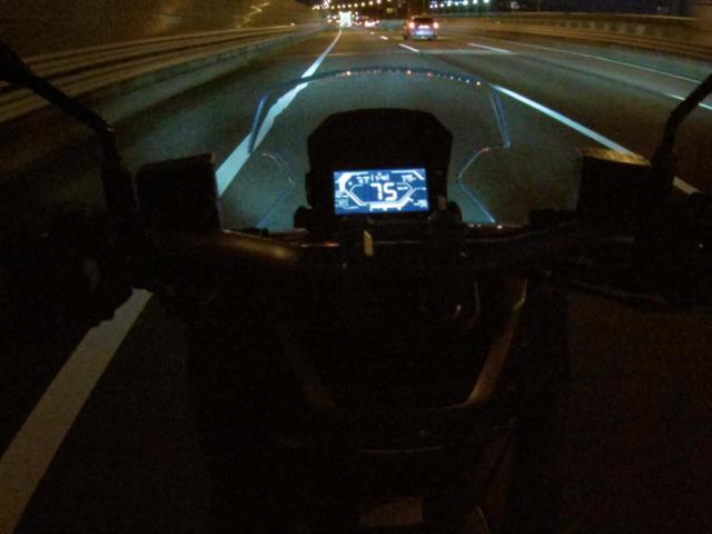 画像: 東名高速 東京インターから足柄SAへ