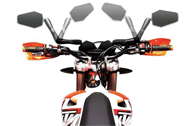 画像2: このミラーすごくない? 米国発「ダブルテイクミラー」が積極的なオフロード走行をサポートする!