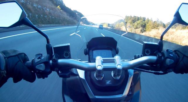 画像3: 新東名高速の120km/h区間へ