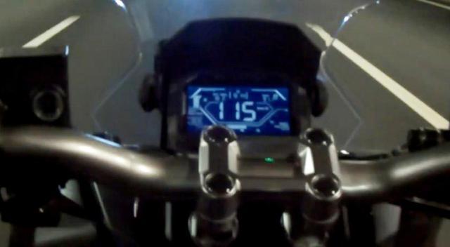 画像: というわけで、メーター読みでの最高速は115km/hと分かりました。