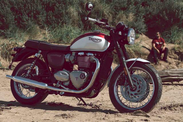 画像: T120 Bud Ekins Special Edition 排気量:1200cc/水冷SOHC並列2気筒 メーカー希望小売価格(税込):156万7,500円