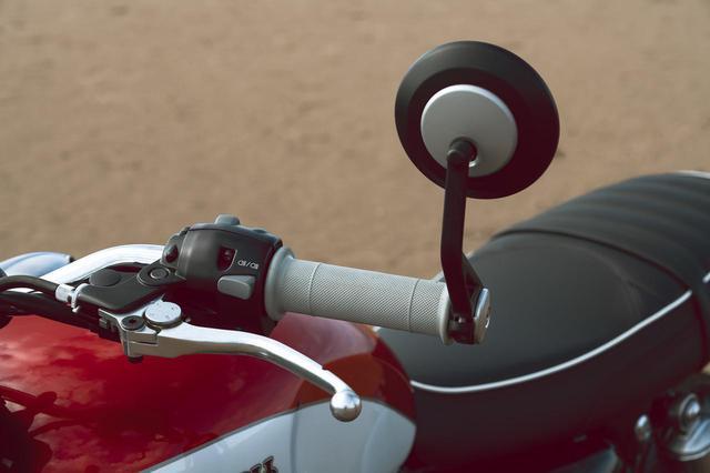 画像: 「T100 Bud Ekins Special Edition」の写真をもっと見る! - webオートバイ