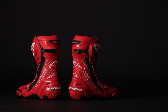 画像2: クシタニの革素材を使用した、アルパインスターズの「スーパーテックRブーツ」