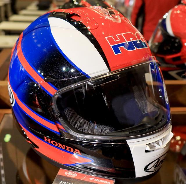 画像1: アライ×ホンダの特注「RX-7X」、額にはHRC! CBR1000RR-Rにぴったりなフルフェイスヘルメットがお披露目された!