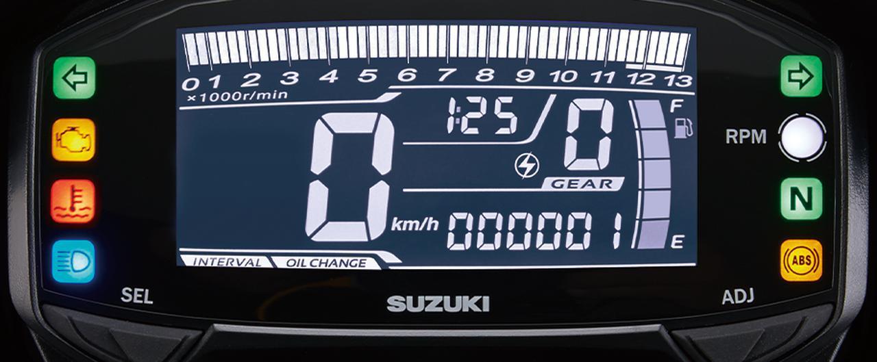 画像2: 「GSX-R125 ABS」の2020年モデルが2/27に登場!