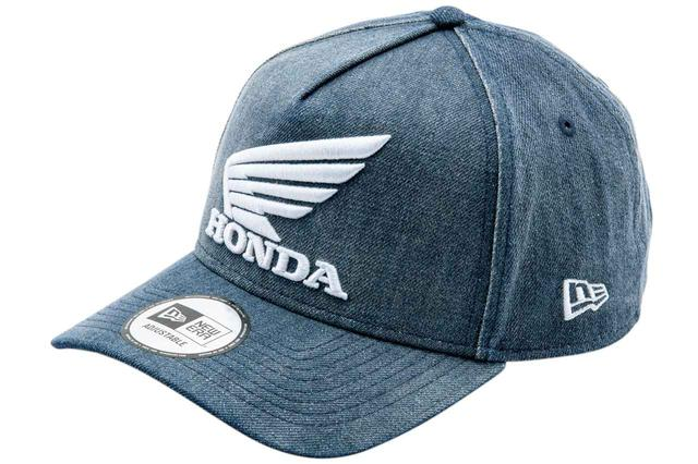 画像1: 9FORTY AF Honda WASHED DENIM CAP/税別3,800円