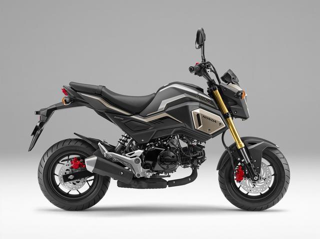 画像: Honda GROM マットアクシスグレーメタリック