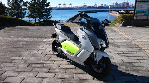 画像: BMWの電動スクーター「C evolution」に乗ってみました! - webオートバイ