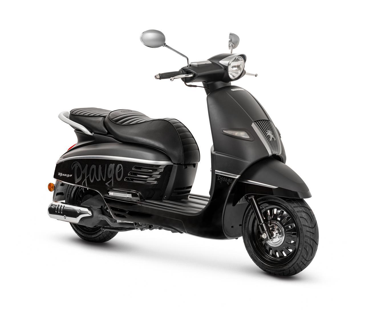 画像2: 125cc&150ccのプジョー「ジャンゴ」シリーズの2020年モデルが登場! 2月28日(金)より全国で発売