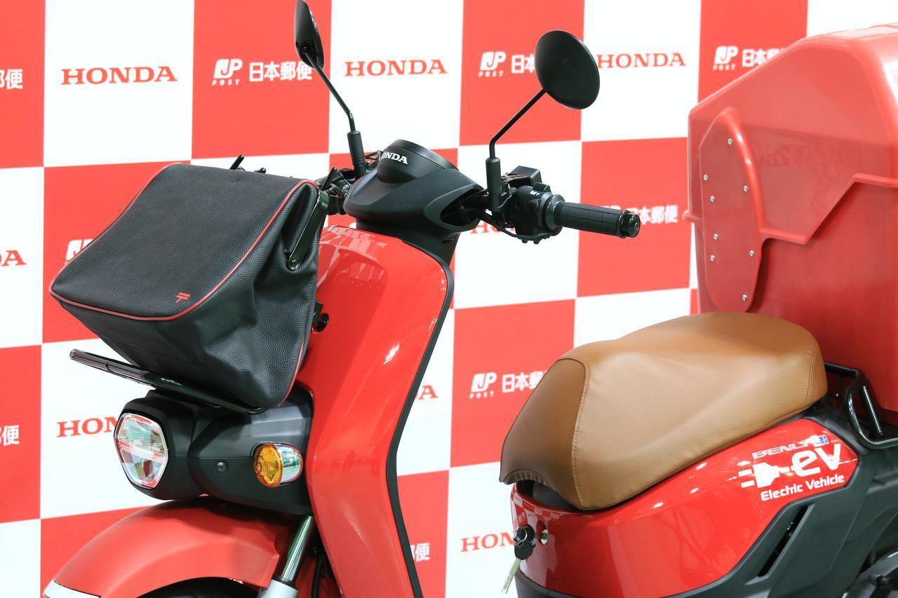 画像: ウインカーが右手側にある? 日本郵便仕様のホンダ「BENRY e:」を細かくチェック! - webオートバイ