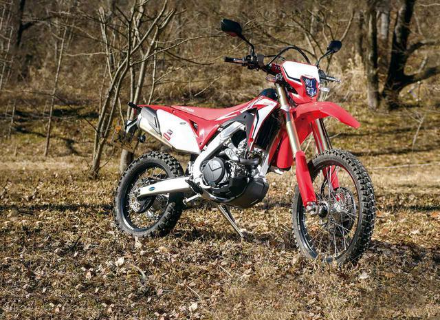 画像: Honda CRF450L(逆輸入車)/税込価格:148万5000円(販売元:パッセージ)
