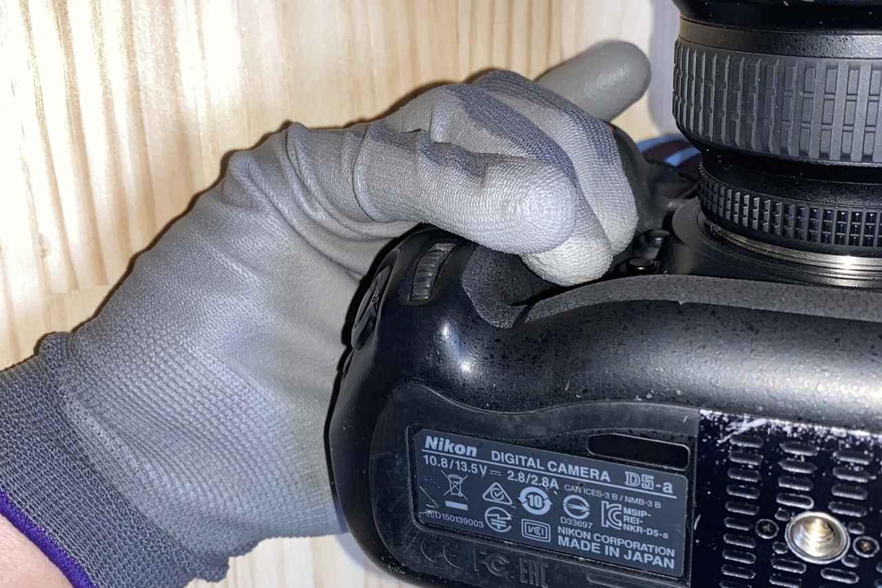 Images : 7番目の画像 - 【写真をまとめて見る】ワークマン 匠の手 ウレタン背抜き手袋(税込99円) - webオートバイ