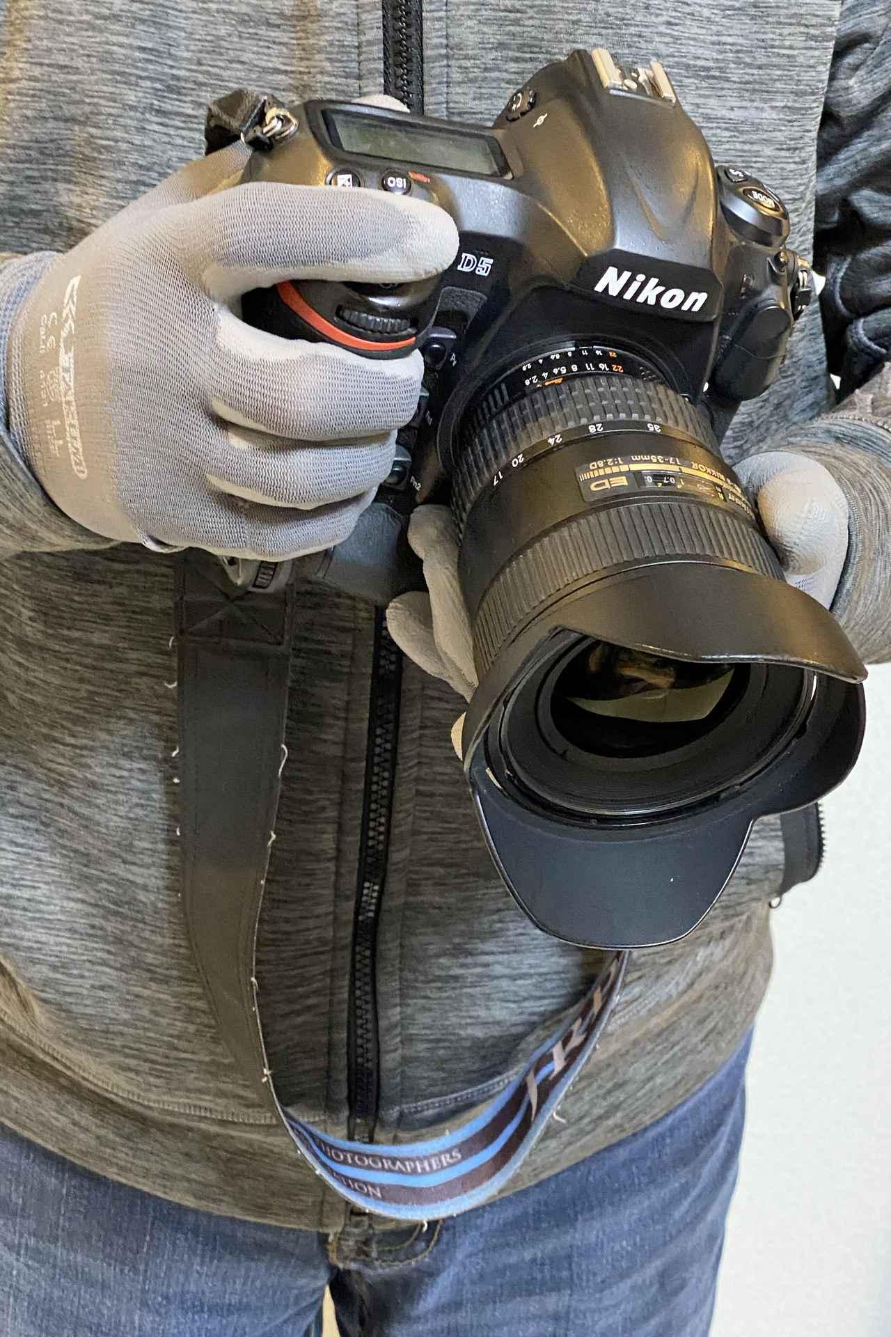 Images : 11番目の画像 - 【写真をまとめて見る】ワークマン 匠の手 ウレタン背抜き手袋(税込99円) - webオートバイ