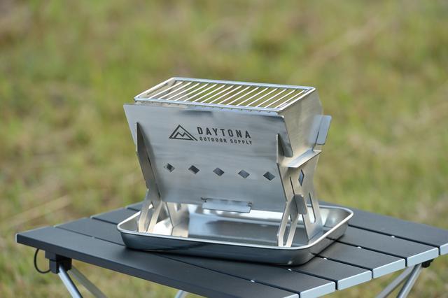 画像2: 今季のデイトナは「キャンプ」に本気、オリジナル焚き火台を開発しちゃった!