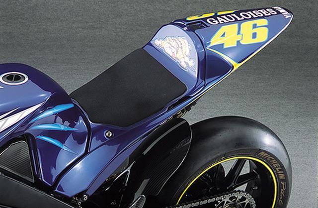 """画像3: 【MotoGP創成期】YAMAHA YZR-M1(2004)後編 〜WGPからMotoGPへ """"4サイクル990㏄時代の初代GPマシンたち""""〜"""