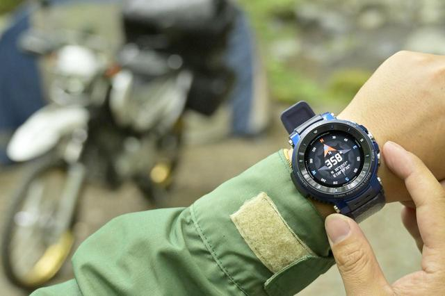 画像: バイクで使うともう手放せない! カシオの最新スマートウォッチ「PROTREK Smart WSD-F30」を徹底解説! - webオートバイ