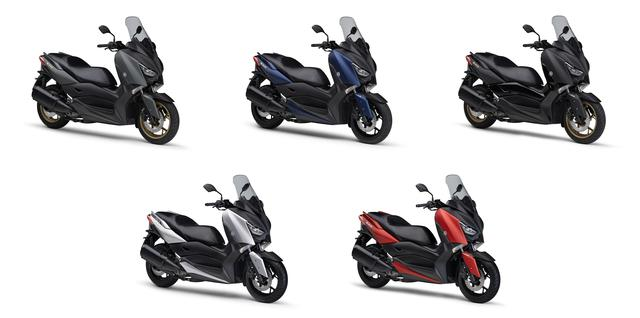 画像21: ヤマハが250ccスクーター「XMAX ABS」の2020年モデルを3月25日に発売! 3色のニューカラーを加え、計5色で展開!
