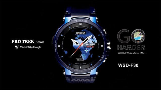 画像: PRO TREK Smart WSD-F30 Promotion Movie | CASIO www.youtube.com