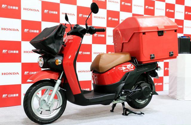 画像: 日本郵便がホンダ「BENRY e:」を導入、2020年3月までに都心で200台を納車すると発表 - webオートバイ