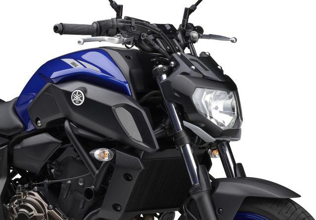画像: ヤマハが「MT-07 ABS」の2020年モデルを発表! 新色のブルーを新たにラインナップ - webオートバイ