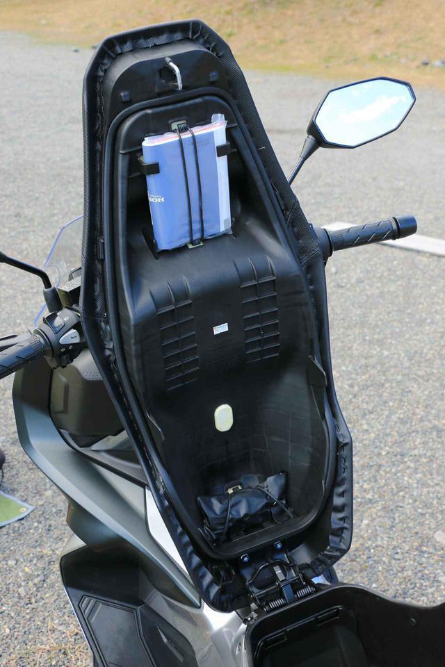 画像2: ホンダ「ADV150」が叶えてくれたスマート・キャンプツーリング【ADV150で1泊2日の旅-積載性&キャンプ編-】 - webオートバイ