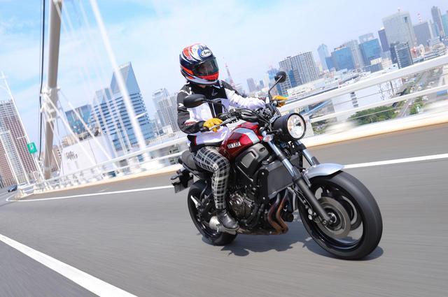 画像: ツーリングラジアル「 IRC RMC810」をXSR700に装着してみました!(斉藤ハルコ) - webオートバイ