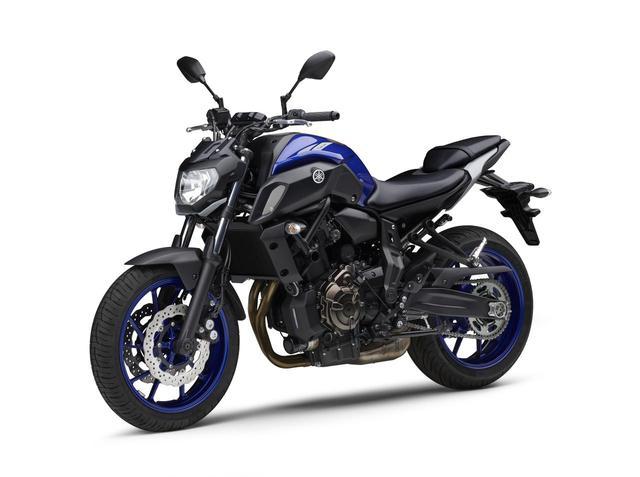 画像2: ヤマハが「MT-07 ABS」の2020年モデルを発表! 新色のブルーを新たにラインナップ